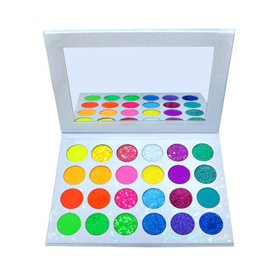 Private Label Long Lasting Vegan Glitter Eye Shadow Palette
